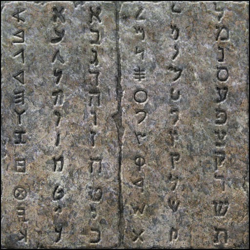 Aramaic and Hebrew letters reveal hidden meaning in the