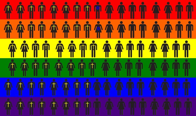 48% of gays are Christians